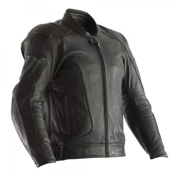 RST GT CE Mens Leather Jacket Black / Black