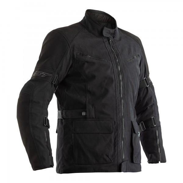 RST Pro Series Raid CE Mens Textile Jacket Black / Black