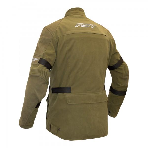 RST Pro Series Raid CE Mens Textile Jacket Military Green