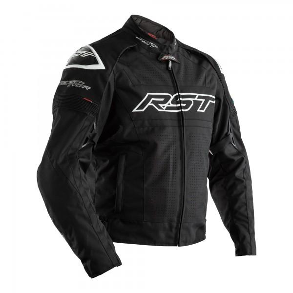 RST Tractech Evo R Lightweight CE Mens Textile Jacket Black/Black