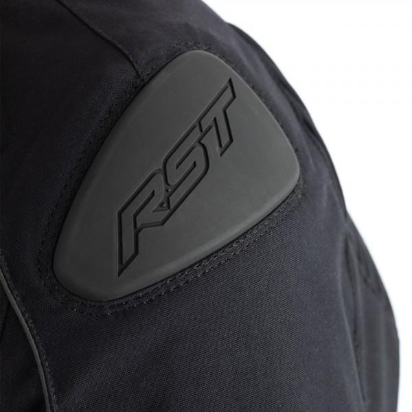 RST GT CE Mens Textile Jacket Black / Black