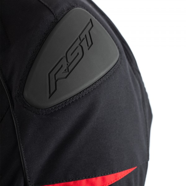 RST GT CE Mens Textile Jacket Black / Red