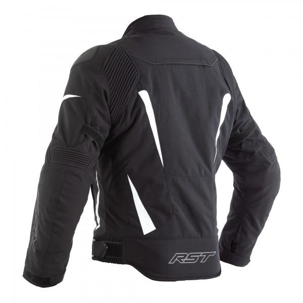 RST GT CE Mens Textile Jacket Black / White