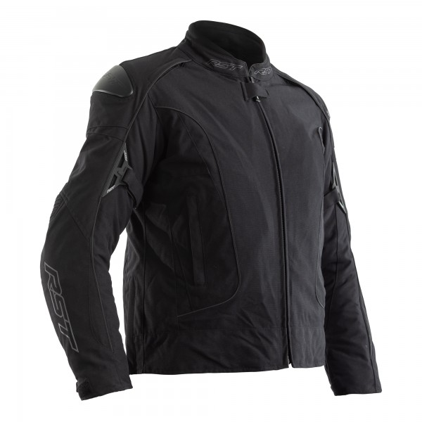 RST GT CE Ladies Textile Jacket Black / Black