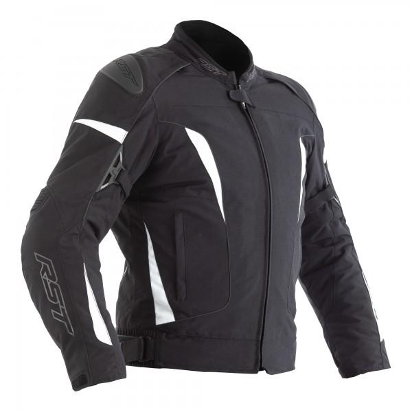 RST GT CE Ladies Textile Jacket Black / White