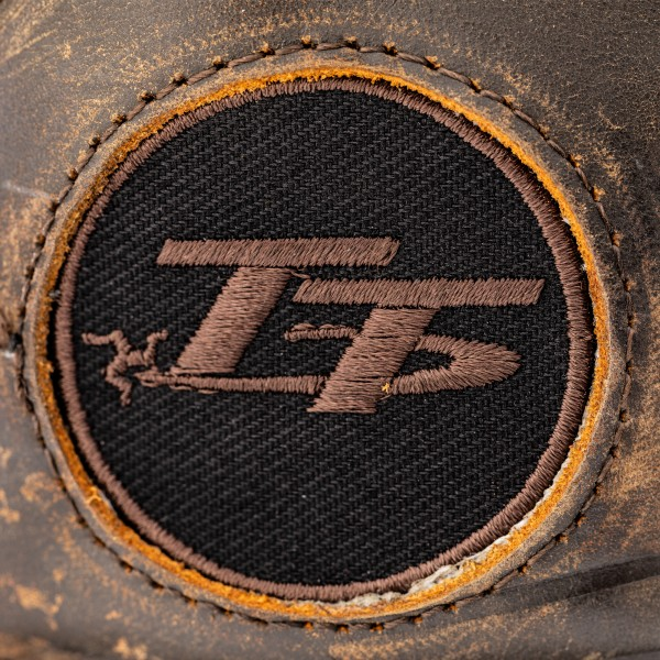 RST IOM TT Crosby Leather CE Mens Waterproof Boot Brown