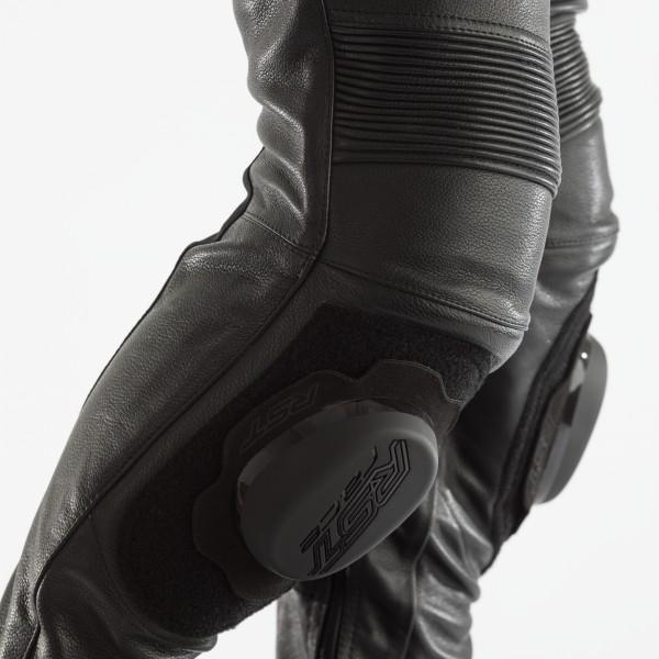 RST GT CE Mens Leather Jean Black / Black