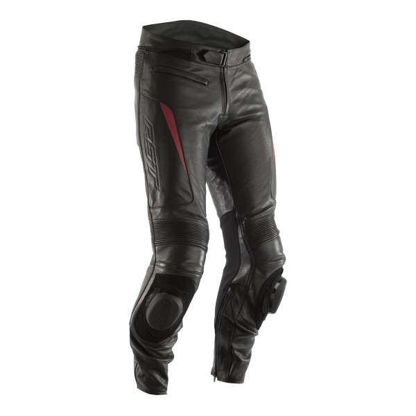 RST GT CE Mens Leather Jean Black / Red