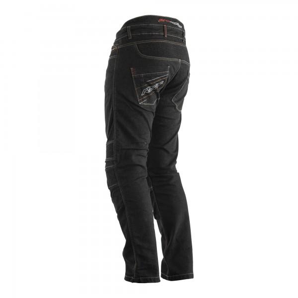 RST Reinforced Tech Pro CE Short Leg Mens Textile Jean Black
