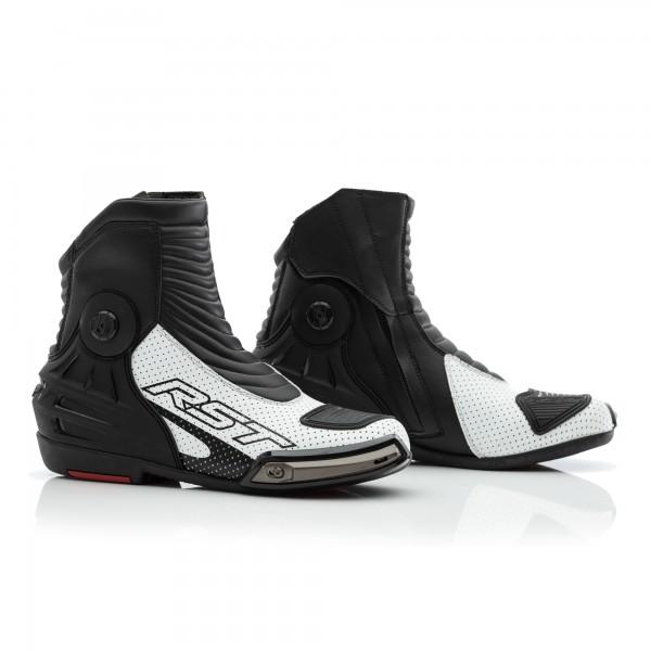 RST Tractech Evo III Short CE Mens Boot White / Black