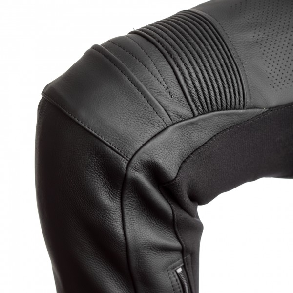 RST Axis CE Mens Leather Jean Black / Black