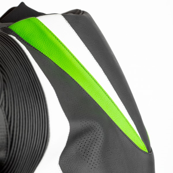 RST Tractech Evo 4 CE Mens Leather Suit Black / Green