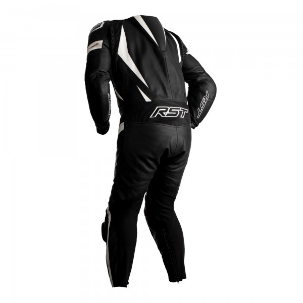 RST Tractech Evo 4 CE Mens Leather Suit Black / White