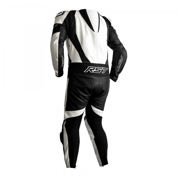 RST Tractech Evo 4 CE Mens Leather Suit White / Black