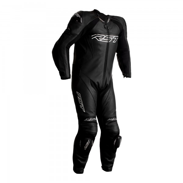 RST Tractech Evo 4 Youth CE Mens Leather Suit Black / Black
