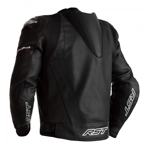 RST Tractech Evo 4 CE Mens Leather Jacket Black / Black