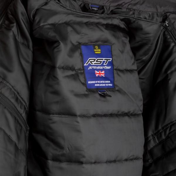 RST Maverick CE Mens Textile Jacket Black / Black