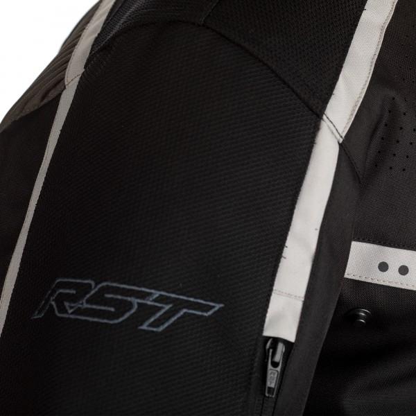 RST Maverick CE Mens Textile Jacket Black / Grey / Silver
