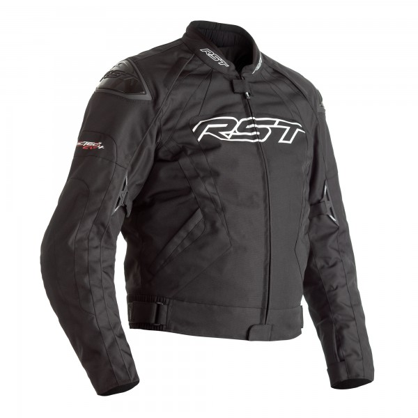 RST Tractech Evo 4 CE Mens Textile Jacket Black/Black