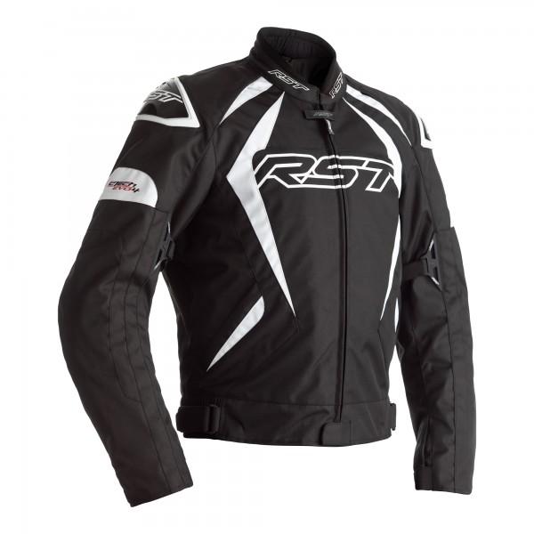 RST Tractech Evo 4 CE Mens Textile Jacket Black/White
