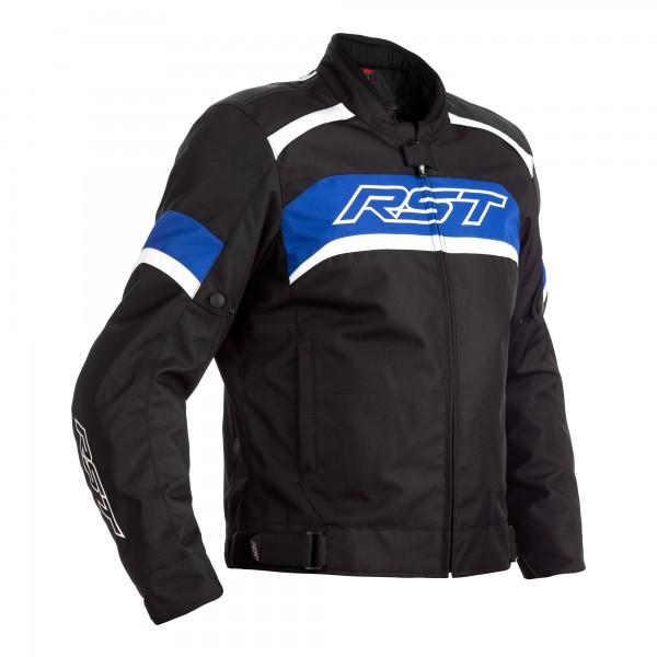RST Pilot CE Mens Textile Jacket Black / Blue / White