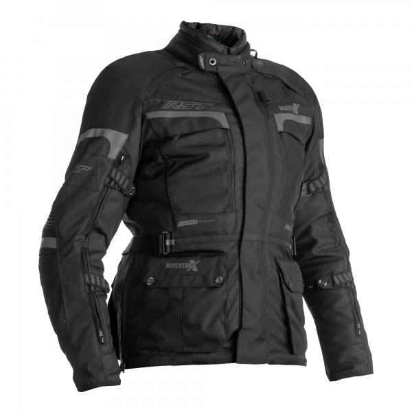 RST Pro Series Adventure-X CE Ladies Textile Jacket Black / Black