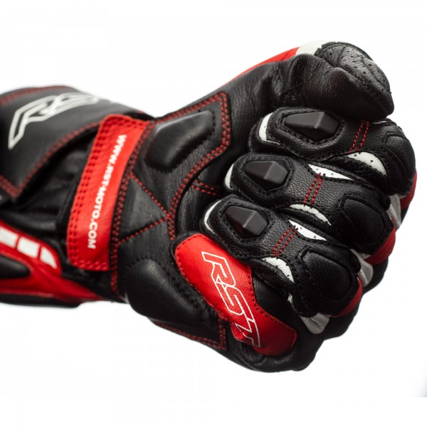 RST Axis CE Mens Glove Black / Red / White