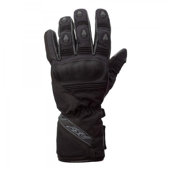 RST X-Raid CE Mens Waterproof Glove Black / Black