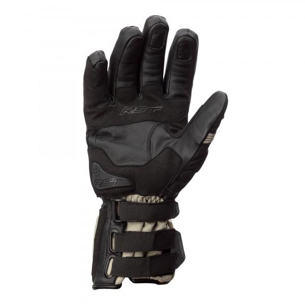 RST X-Raid CE Mens Waterproof Glove Magnesium / Black
