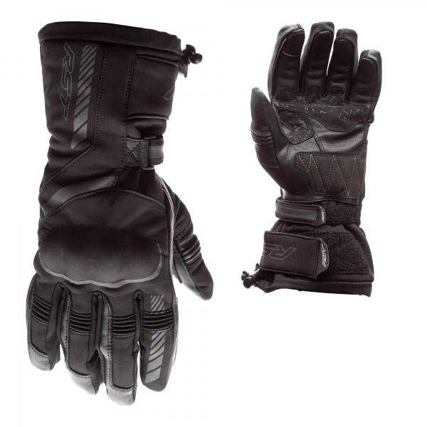 RST Atlas CE Mens Waterproof Glove Black / Black