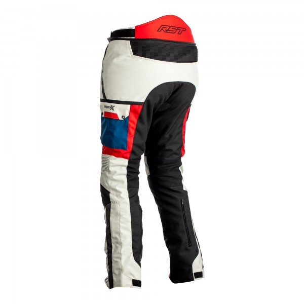 RST Pro Series Adventure-X CE Ladies Textile Jean Ice / Blue / Red