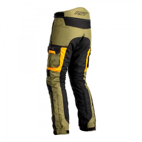 RST Pro Series Adventure-X CE Mens Textile Jean Green / Ochre
