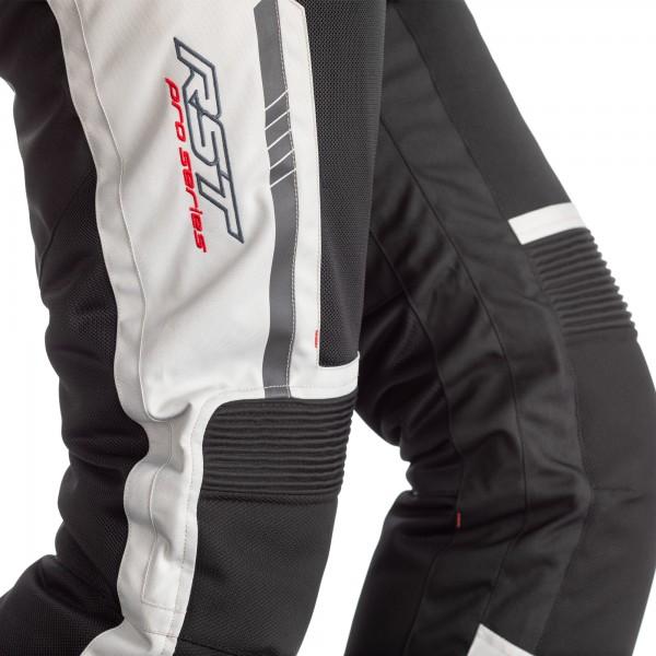 RST Pro Series Ventilator-X CE Mens Textile Jean Silver / Black