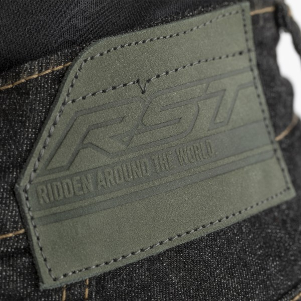 RST Reinforced Straight Leg CE SL Mens Textile Jean Black
