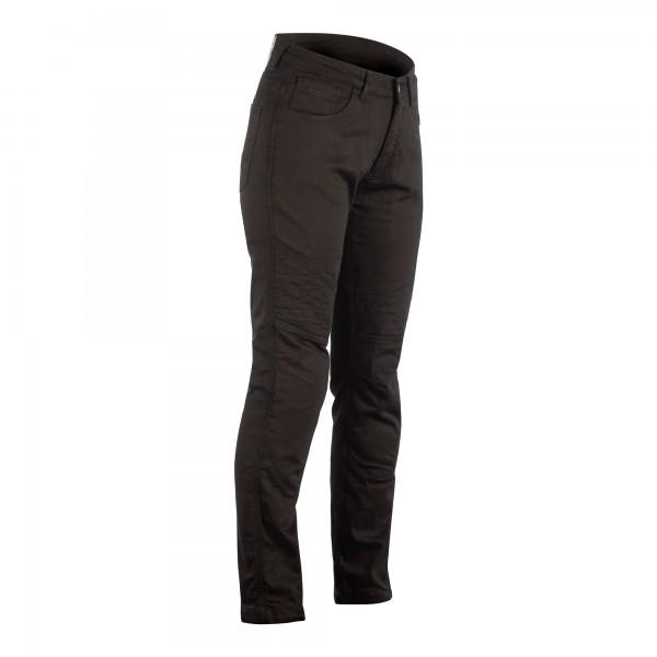 RST Reinforced Straight Leg CE SL Ladies Textile Jean Black