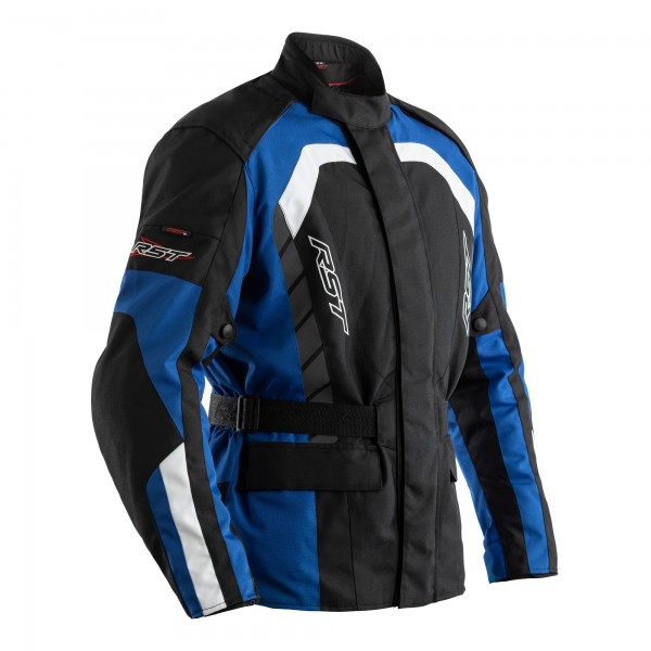 RST Alpha IV CE Mens Textile Jacket Black / Blue