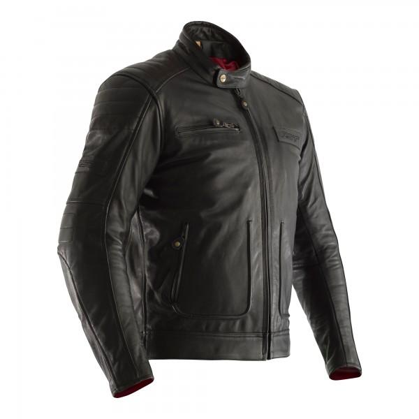 RST Roadster II CE Mens Leather Jacket Vintage Black