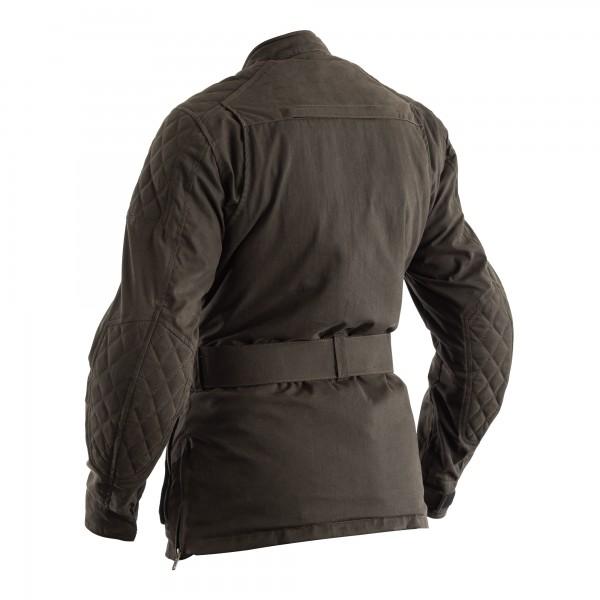 RST Classic TT Wax 3/4 III CE Ladies Textile Jacket Green