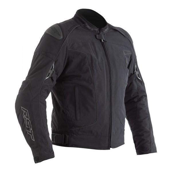 RST GT Airbag CE Mens Textile Jacket Black