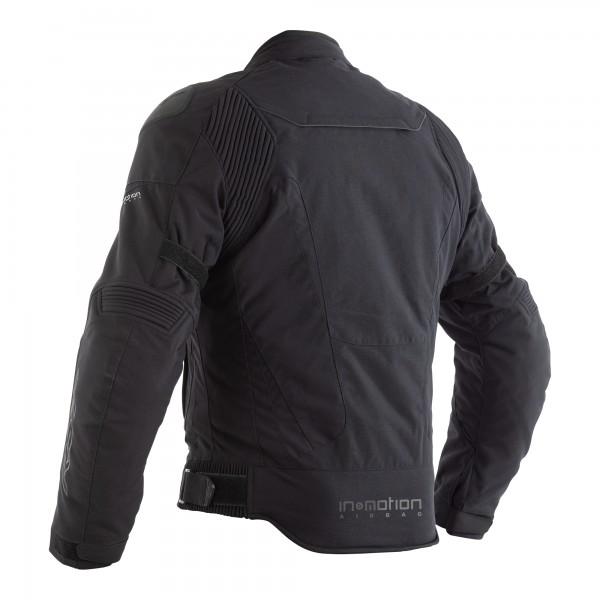 RST GT Airbag CE Mens Textile Jacket Black / Black