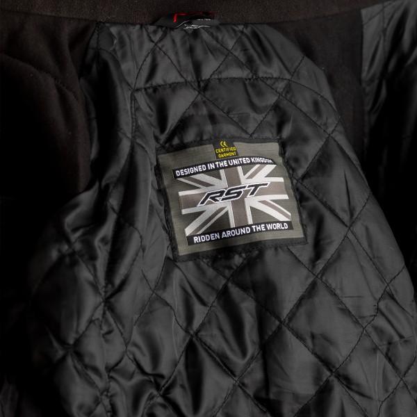 RST Frontier CE Mens Textile Jacket Black