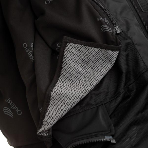 Wolf Titanium Outlast CE Mens Textile Jacket Black