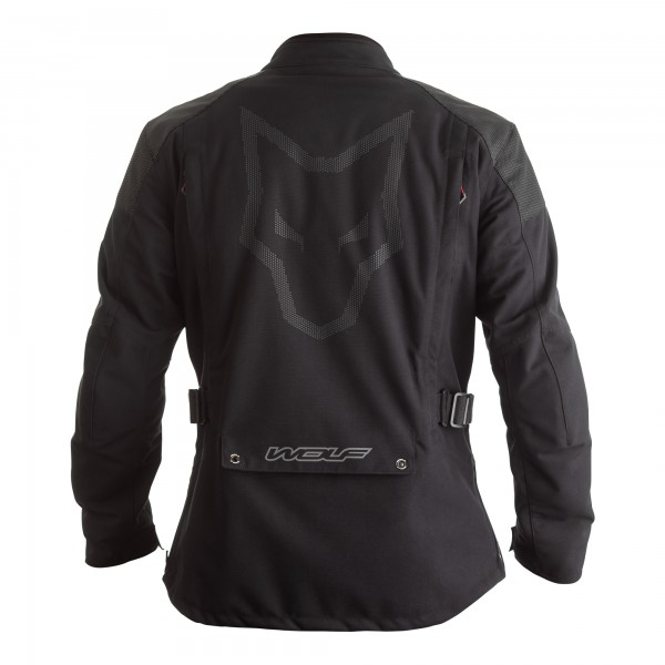 Wolf Fortitude CE Mens Textile Jacket Black
