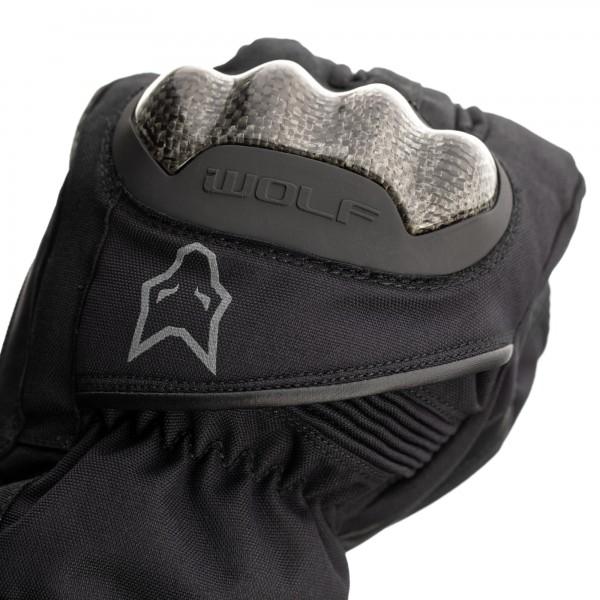 Wolf Fortitude CE Mens Waterproof Glove Black