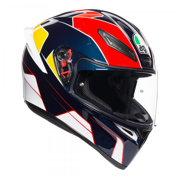 AGV K1 Pitlane Blue / Red / Yellow
