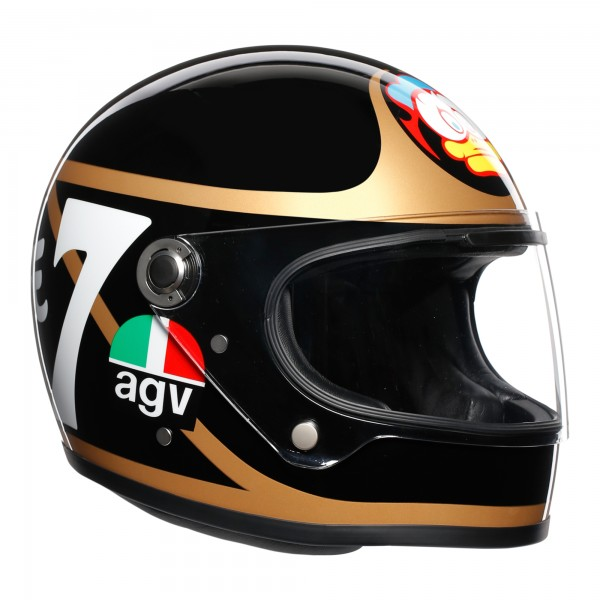 AGV X3000 Barry Sheene Replica