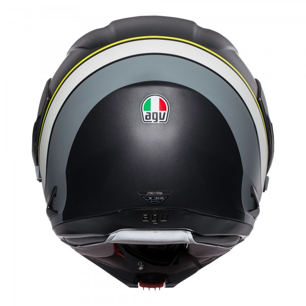AGV Compact-ST Boston Black / Grey / Yellow
