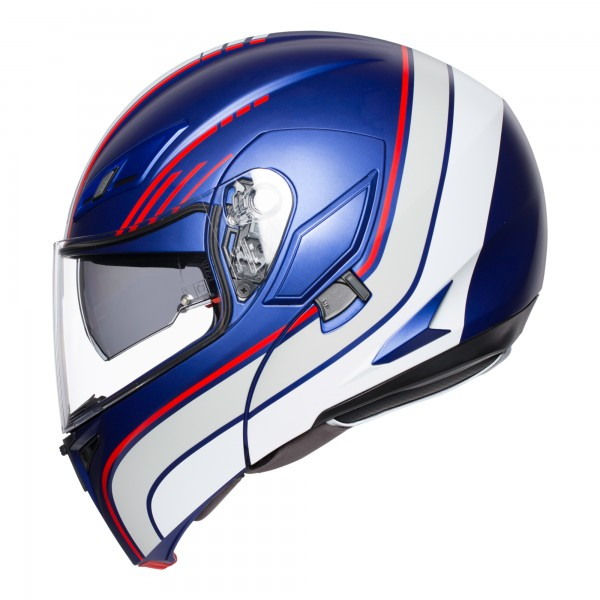 AGV Compact-ST Boston Blue / White / Red