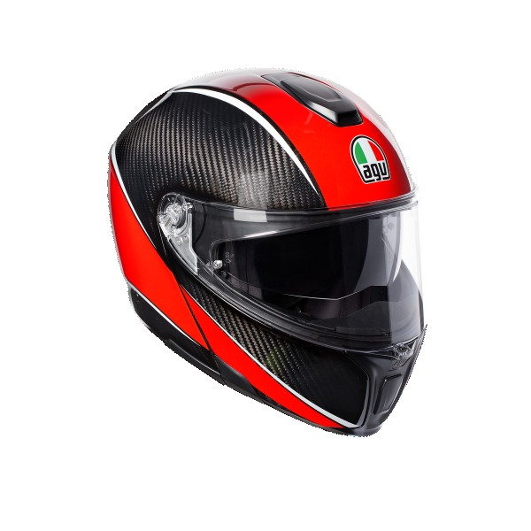 AGV Sports Modular Aero Carbon Red
