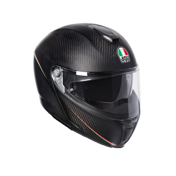 AGV Sports Modular Tricolore Matt Carbon Italian Flag